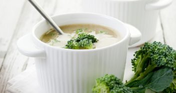 Healthy Creamy Broccoli Soup Recipe - dairy-free and vegan