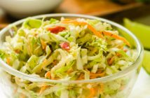 Sweet and Sour Coleslaw Recipe - Plant-Based, Mayo-Free, Oil-Free, and Fat-Free