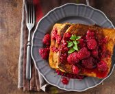 Summer Berry French Toast with a Warm Vanilla Infusion