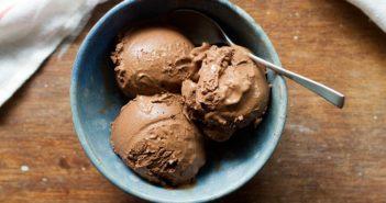 Vegan Chocolate Ice Cream Recipe - Easy, uses everyday dairy-free ingredients and NO coconut!