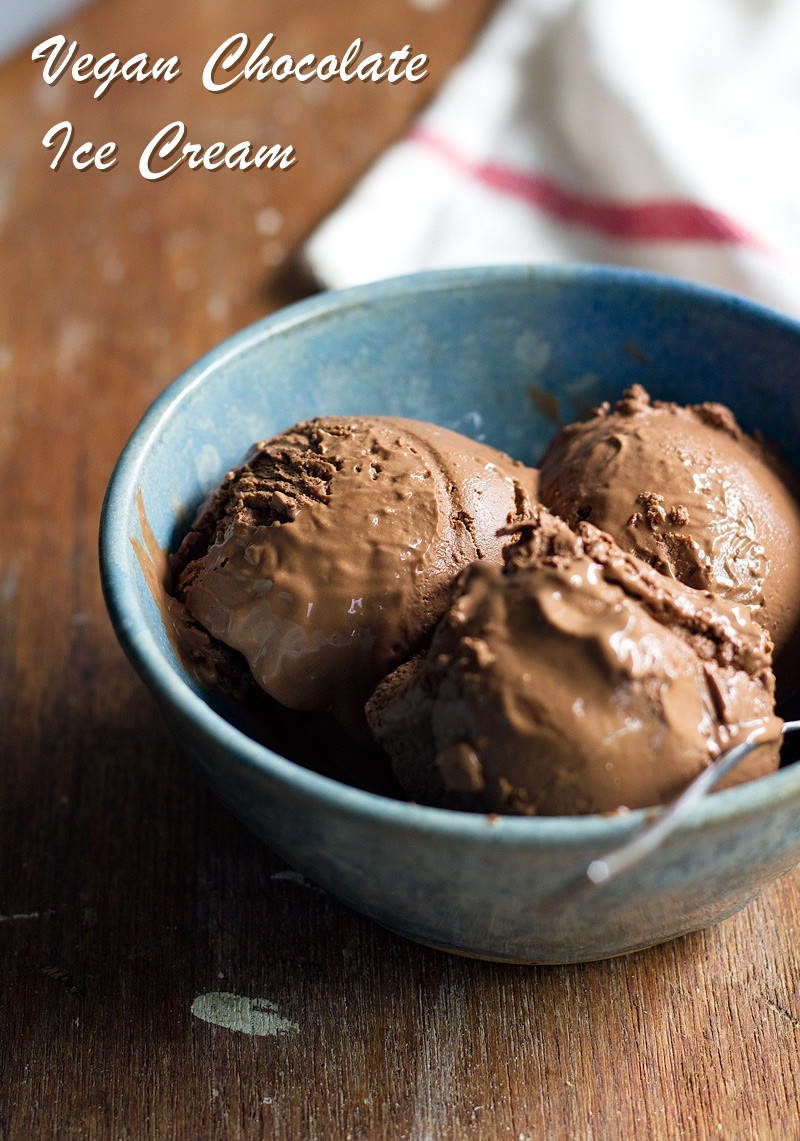 Vegan chocolate ice cream vegan chocolate ice cream recipe easy uses everyday dairy free ingredients and no ccuart Choice Image