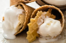 Classic Vanilla Coconut Ice Cream Recipe (Dairy-free and Vegan). Easy (no cooking or pre-chilling) with several variations (Orange Sherbet, Stracciatella, Coconut, Ice Milk). Also soy-free and gluten-free.y-Free Easy