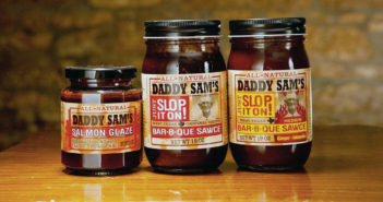 Daddy Sam's Sawces - Available in BBQ sauce or Salmon Glaze. Made with all natural ingredients!