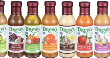 Drew's All Natural Dressings and Marinades - available in 11 dairy-free varieties made with all natural non-GMO ingredients!