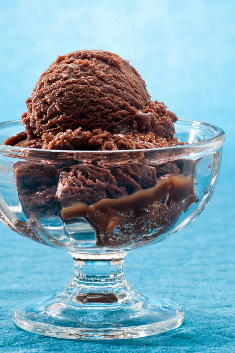Basic Chocolate Sorbet Recipe made with just 4 Everyday Pantry Ingredients! Naturally vegan, dairy-free, gluten-free, grain-free, nut-free, and soy-free.