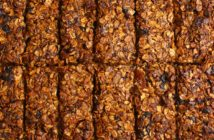 Whole Grain Fruit & Nut Bars Recipe - oil-free, added sugar-free, dairy-free, egg-free, and plant-based