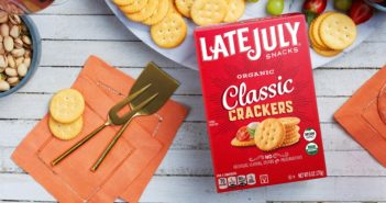 Late July Organic Crackers are Dairy-Free, Soy-Free Classics. Reviews and Info on these vegan crackers.