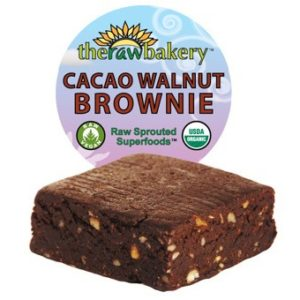 The Raw Bakery Cacao Brownies Review - Vegan, gluten-free, dairy-free and soy-free