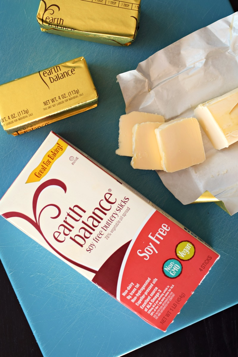 Earth Balance Buttery Sticks Review - dairy-free, vegan, and why we use the soy-free version