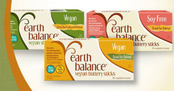 Earth Balance Vegan Buttery Sticks - a dairy-free alternative for baking or spread on toast, just as buttery as the real thing!