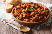 Plant-Based Eggplant Caponata Recipe and How to Serve It (naturally dairy-free, egg-free, gluten-free, nut-free, soy-free, vegan, plant-based, and paleo)