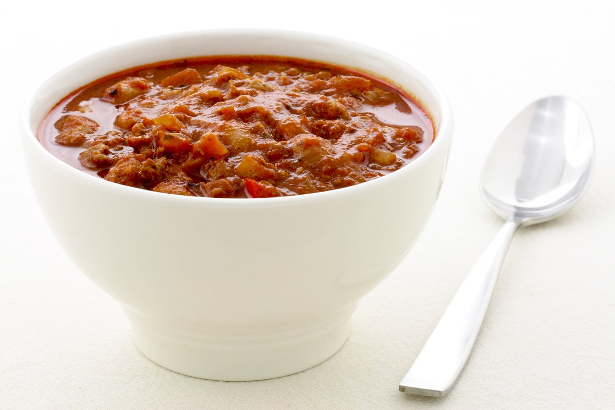 Pumpkin Chili Recipe - Dairy-Free, Gluten-Free, Allergy-Friendly Cook-Off Winner and Family Favorite. Vegan Option.