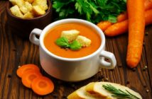 Curry Carrot Soup Recipe (Vegan, Paleo, Allergy-Friendly) - Creamy, Healthy & Just 6 Ingredients!