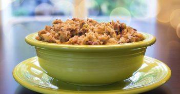 Vegan Stuffing Recipe - A basic, versatile side dish for Thanksgiving and beyond
