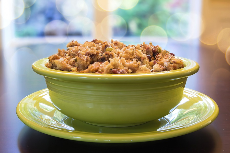 Vegan Stuffing Recipe - A basic, versatile side dish for Thanksgiving and beyond