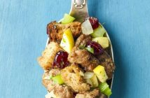 Sausage, Apple and Cranberry Stuffing Recipe - dairy-free version