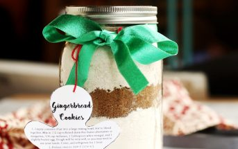 Gingerbread Cookie Mix Recipe (giftable with preparation instructions - dairy-free, vegan optional)