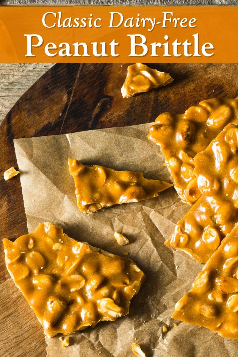 Classic Dairy-Free Peanut Brittle Recipe - A vegan friendly favorite with foolproof tips.
