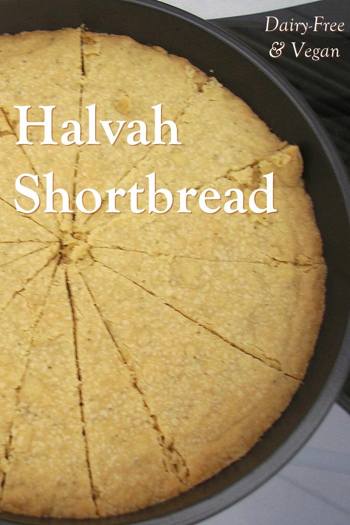 Vegan Halvah Shortbread Recipe