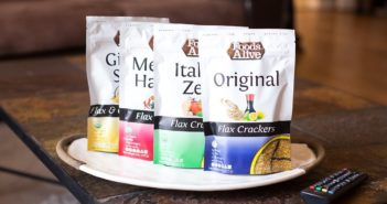 Foods Alive Flax Crackers Reviews and Info - Dairy-Free, Vegan, Paleo, Gluten-Free, and Keto Snacks