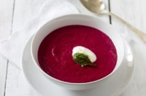 Dairy-Free Creamy Beet Soup Recipe - naturally plant-based, gluten-free, allergy-friendly, and great for those with chronic fatigue syndrome