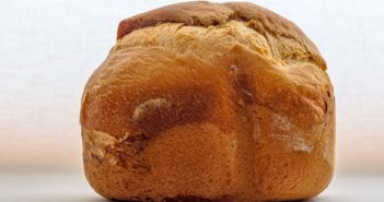 Crusty Tea Bread Recipe with Just 4 Ingredients - for your Bread Machine / Bread Maker or by Hand. Dairy-free and Vegan.