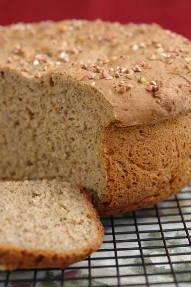 Gluten Free Brown Honey Bread