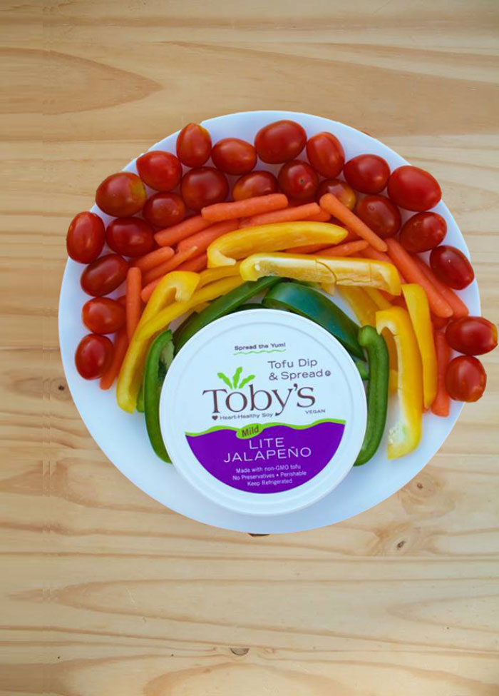 Toby's Tofu Dip & Spread - dairy-free tofu based dip and spread that's perfect for a party or healthier replacement for cream in a recipe!
