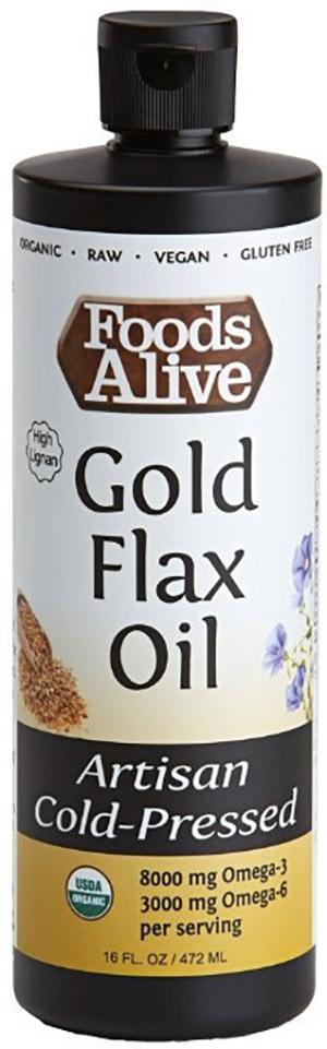 Foods Alive Golden Flax Oil