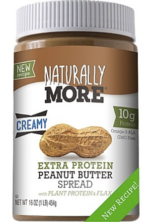 Naturally More - All natural nut butters with added probiotics and protein for an extra health boost!