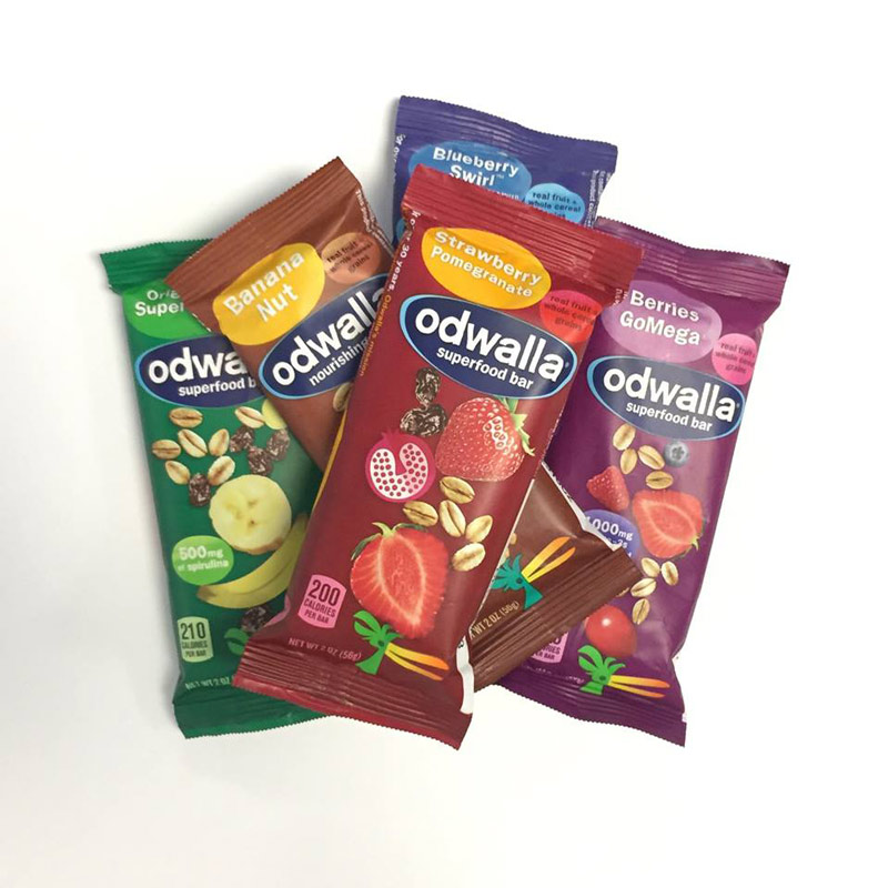Odwalla Bars - nutrition bars made from whole grain cereals and real fruit. Available in many dairy-free and vegan flavors.