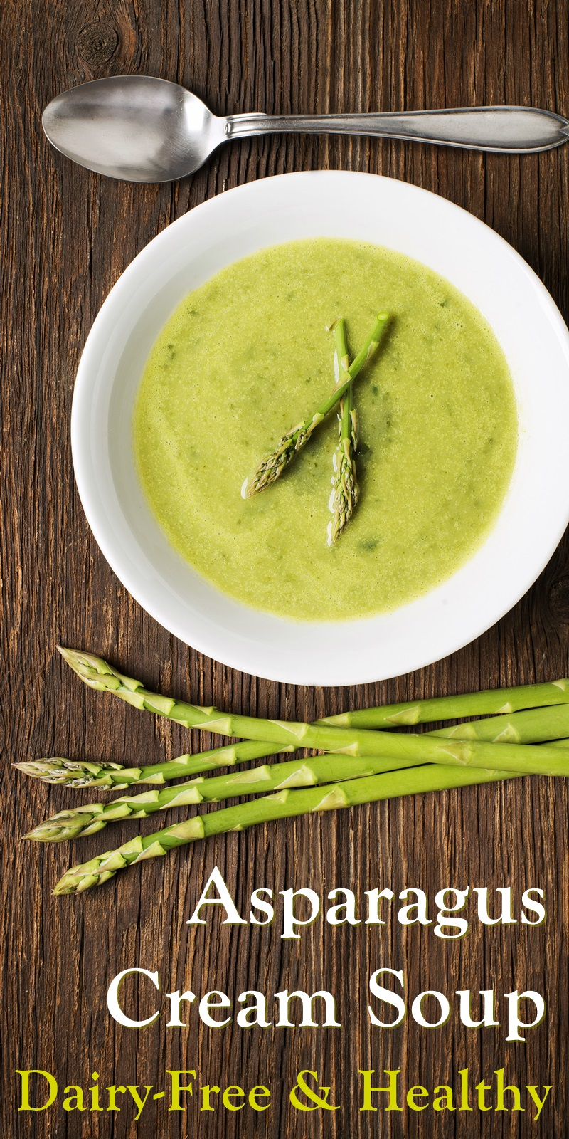 Creamy Vegan Asparagus Soup Recipe for Your Spring Clean Diet