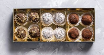 Vegan Chocolate Truffles Recipe - easy, dairy-free, optionally nut-free, and optionally soy-free. Decadent for parties, holidays, and gifts.