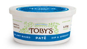 Toby's Tofu Pate Reviews and Info - dairy-free, gluten-free, egg-free, and vegan dip and spread that's been around for 40 years!