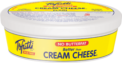 Tofutti Better Than Cream Cheese Reviews and Info (dairy-free and vegan alternative) - available in four varieties. Pictured: Plain / Classic Non-hydrogenated