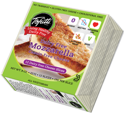 Tofutti Dairy-Free Cheese Slices Reviews and Info - classic brand in American and Mozzarella. Vegan, Nut-Free, Gluten-Free.