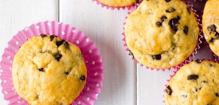 Banana Chocolate Chip Muffins: Mama's Dairy-Free Favorite