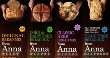 Breads from Anna Gluten-Free Baking Mixes (Review of the Dairy-Free Varieties): Breads, Pancake & Muffin and Crust Mixes