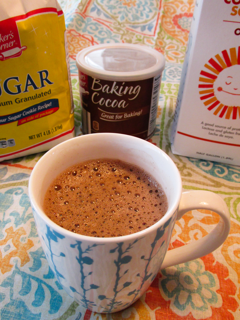 Mama's Easy Hot Chocolate with Marshmallow Creme - dairy-free, allergy-friendly and vegan optional