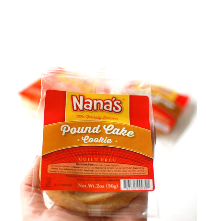 Nana's Cookies - healthier dairy-free cookies made from real ingredients and available in a ton of different varieties.