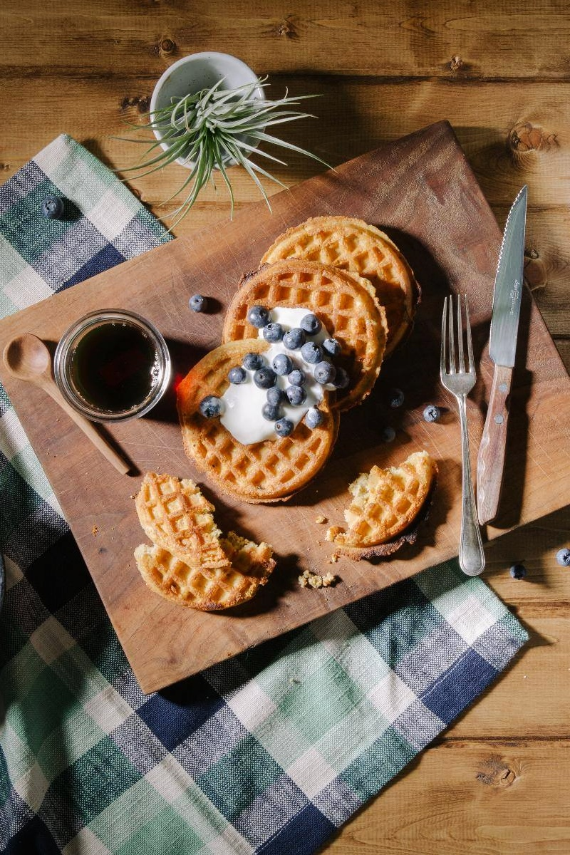 Ancient Grains, Flax Plus, Maple Cinnamon and More. Nature's Path Frozen Waffles come in an array of tempting, convenient, dairy-free, vegan varieties. (Review)
