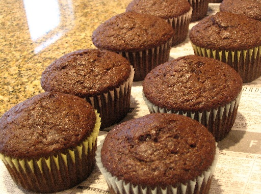Triple Chocolate Cupcakes (Vegan) - Go Dairy Free