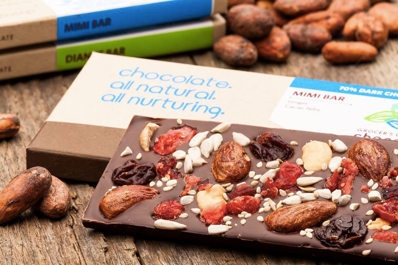 Grocer's Daughter Dairy-Free Chocolates - unique chocolate bars, bark and truffles