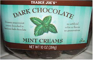 TJ's Mint Creams