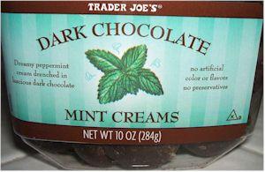 TJ's Mint Creams