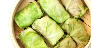 Plant-Based Chinese Stuffed Cabbage Rolls Recipe (optionally gluten-free and vegan)
