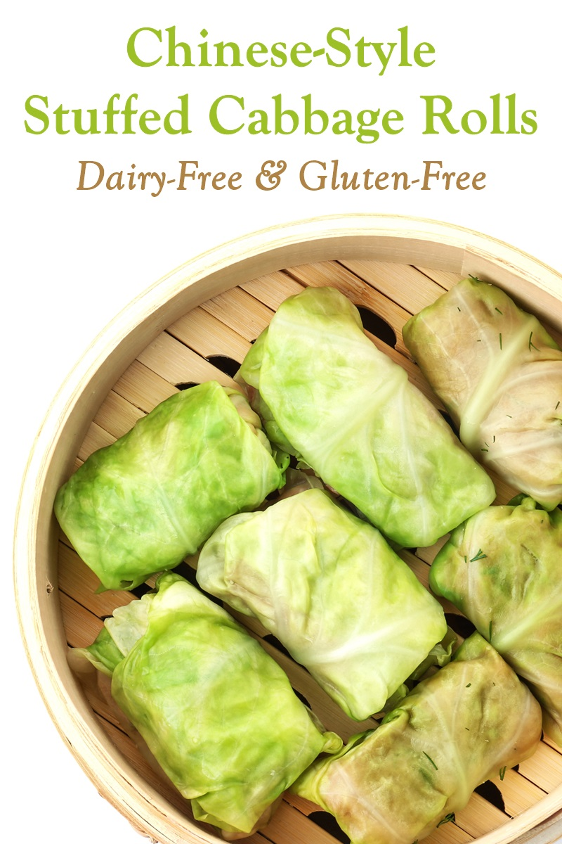 Chinese Stuffed Cabbage Rolls Recipe Plant Based Gluten Free