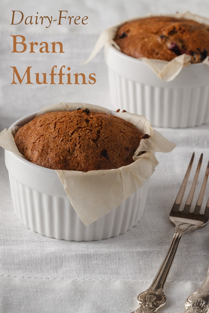 Dairy-Free Maple Bran Muffins Recipe - a Northwoods favorite from King Arthur, made dairy-free and nut-free.
