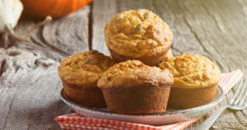 Gluten-Free Vegan Pumpkin Muffins Recipe made with Oat Flour - top allergen-free treat that's gum-free, easy, versatile, and uses simple ingredients!