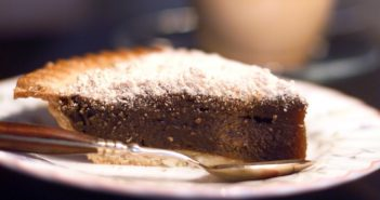 Dairy-Free Shoofly Pie is Just Like the Classic Wet-Bottom Recipe - also nut-free and optionally soy-free